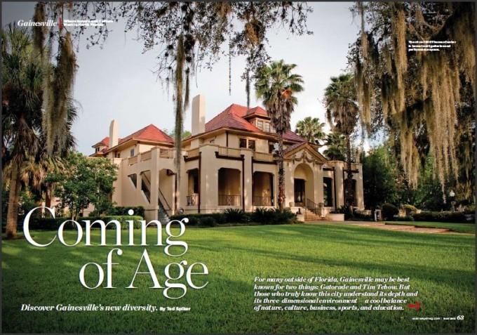 US Airways Magazine - Gainesville, Florida